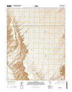 Rox SE Nevada Current topographic map, 1:24000 scale, 7.5 X 7.5 Minute, Year 2014 from Nevada Map Store