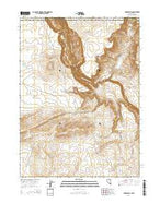 Rubber Hill Nevada Current topographic map, 1:24000 scale, 7.5 X 7.5 Minute, Year 2014 from Nevada Map Store