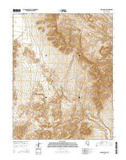 Seaman Wash Nevada Current topographic map, 1:24000 scale, 7.5 X 7.5 Minute, Year 2015 from Nevada Maps Store