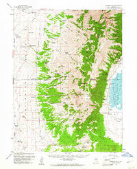 Sherman Mtn Nevada Historical topographic map, 1:62500 scale, 15 X 15 Minute, Year 1959