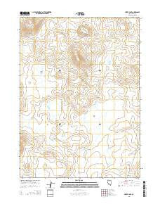 Silver Lake Nevada Current topographic map, 1:24000 scale, 7.5 X 7.5 Minute, Year 2015
