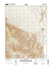 Silver Peak Nevada Current topographic map, 1:24000 scale, 7.5 X 7.5 Minute, Year 2014 from Nevada Maps Store