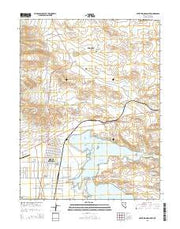 Silver Springs North Nevada Current topographic map, 1:24000 scale, 7.5 X 7.5 Minute, Year 2014 from Nevada Maps Store