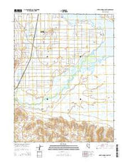 Silver Springs South Nevada Current topographic map, 1:24000 scale, 7.5 X 7.5 Minute, Year 2014 from Nevada Maps Store