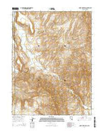 Smoke Creek Ranch Nevada Current topographic map, 1:24000 scale, 7.5 X 7.5 Minute, Year 2014 from Nevada Map Store