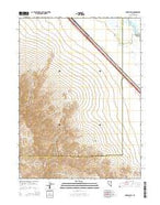 Snow Gulch Nevada Current topographic map, 1:24000 scale, 7.5 X 7.5 Minute, Year 2014 from Nevada Map Store