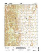 Snowball Ranch Nevada Current topographic map, 1:24000 scale, 7.5 X 7.5 Minute, Year 2014 from Nevada Map Store