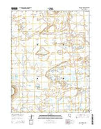Soda Lake East Nevada Current topographic map, 1:24000 scale, 7.5 X 7.5 Minute, Year 2014 from Nevada Map Store