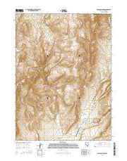 Soldier Meadow Nevada Current topographic map, 1:24000 scale, 7.5 X 7.5 Minute, Year 2015 from Nevada Maps Store