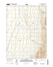 South of McDermitt Nevada Current topographic map, 1:24000 scale, 7.5 X 7.5 Minute, Year 2015 from Nevada Maps Store