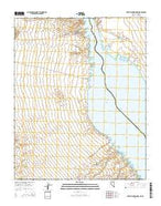 Spirit Mountain NW Nevada Current topographic map, 1:24000 scale, 7.5 X 7.5 Minute, Year 2014 from Nevada Map Store