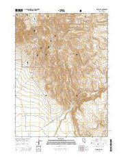 Spring City Nevada Current topographic map, 1:24000 scale, 7.5 X 7.5 Minute, Year 2015 from Nevada Maps Store