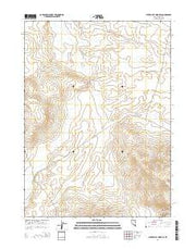 Star Valley Ridge SE Nevada Current topographic map, 1:24000 scale, 7.5 X 7.5 Minute, Year 2014 from Nevada Maps Store