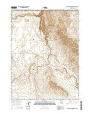 Star Valley Ridge West Nevada Current topographic map, 1:24000 scale, 7.5 X 7.5 Minute, Year 2014 from Nevada Maps Store