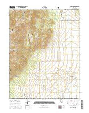 Stargo Creek Nevada Current topographic map, 1:24000 scale, 7.5 X 7.5 Minute, Year 2014 from Nevada Maps Store