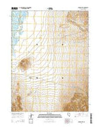 Station Butte Nevada Current topographic map, 1:24000 scale, 7.5 X 7.5 Minute, Year 2014 from Nevada Map Store