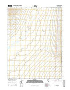 Steptoe Nevada Current topographic map, 1:24000 scale, 7.5 X 7.5 Minute, Year 2014 from Nevada Map Store