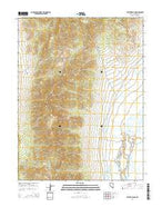 Steptoe Ranch Nevada Current topographic map, 1:24000 scale, 7.5 X 7.5 Minute, Year 2014 from Nevada Map Store