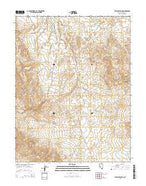 Stewart Spring Nevada Current topographic map, 1:24000 scale, 7.5 X 7.5 Minute, Year 2014 from Nevada Map Store