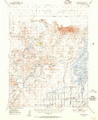 Stillwater Nevada Historical topographic map, 1:62500 scale, 15 X 15 Minute, Year 1950