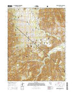 Sweetwater Creek Nevada Current topographic map, 1:24000 scale, 7.5 X 7.5 Minute, Year 2014 from Nevada Map Store