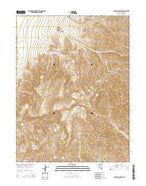 Table Mountain Nevada Current topographic map, 1:24000 scale, 7.5 X 7.5 Minute, Year 2014 from Nevada Map Store