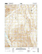 Te-Moak Well Nevada Current topographic map, 1:24000 scale, 7.5 X 7.5 Minute, Year 2014 from Nevada Map Store