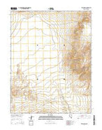 Teels Marsh Nevada Current topographic map, 1:24000 scale, 7.5 X 7.5 Minute, Year 2014 from Nevada Map Store
