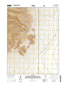 The Cove Nevada Current topographic map, 1:24000 scale, 7.5 X 7.5 Minute, Year 2015