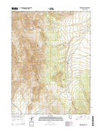 Tonkin Summit Nevada Current topographic map, 1:24000 scale, 7.5 X 7.5 Minute, Year 2015 from Nevada Map Store