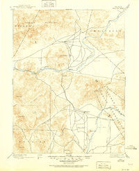 Wabuska Nevada Historical topographic map, 1:125000 scale, 30 X 30 Minute, Year 1894