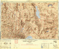 Walker Lake Nevada Historical topographic map, 1:250000 scale, 1 X 2 Degree, Year 1948