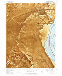 Wendover Utah Historical topographic map, 1:24000 scale, 7.5 X 7.5 Minute, Year 1972