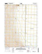 Wendover SE Nevada Current topographic map, 1:24000 scale, 7.5 X 7.5 Minute, Year 2014 from Nevada Maps Store