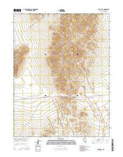 West Gate Nevada Current topographic map, 1:24000 scale, 7.5 X 7.5 Minute, Year 2014 from Nevada Maps Store