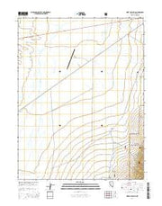 West of Austin Nevada Current topographic map, 1:24000 scale, 7.5 X 7.5 Minute, Year 2014 from Nevada Maps Store
