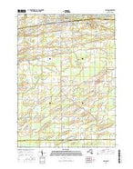 Albion New York Current topographic map, 1:24000 scale, 7.5 X 7.5 Minute, Year 2016 from New York Map Store