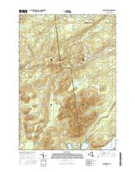 Alder Brook New York Current topographic map, 1:24000 scale, 7.5 X 7.5 Minute, Year 2016
