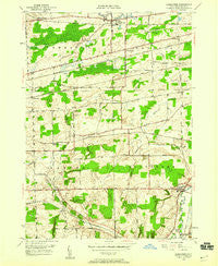 Alexander New York Historical topographic map, 1:24000 scale, 7.5 X 7.5 Minute, Year 1949