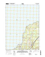 Angola New York Current topographic map, 1:24000 scale, 7.5 X 7.5 Minute, Year 2016 from New York Maps Store