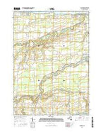 Ashwood New York Current topographic map, 1:24000 scale, 7.5 X 7.5 Minute, Year 2016 from New York Map Store