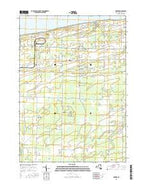 Barker New York Current topographic map, 1:24000 scale, 7.5 X 7.5 Minute, Year 2016 from New York Map Store