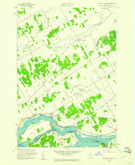 Barnhart Island Ontario Historical topographic map, 1:24000 scale, 7.5 X 7.5 Minute, Year 1942