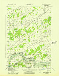 Barnhart Island Ontario Historical topographic map, 1:31680 scale, 7.5 X 7.5 Minute, Year 1943
