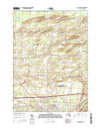 Batavia North New York Current topographic map, 1:24000 scale, 7.5 X 7.5 Minute, Year 2016 from New York Map Store