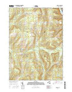 Birdsall New York Current topographic map, 1:24000 scale, 7.5 X 7.5 Minute, Year 2016 from New York Map Store