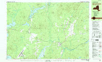 Bloomingdale New York Historical topographic map, 1:25000 scale, 7.5 X 15 Minute, Year 1978