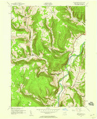 Breakabeen New York Historical topographic map, 1:24000 scale, 7.5 X 7.5 Minute, Year 1943