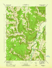 Breakabeen New York Historical topographic map, 1:31680 scale, 7.5 X 7.5 Minute, Year 1946