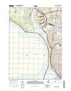 Buffalo NW New York Current topographic map, 1:24000 scale, 7.5 X 7.5 Minute, Year 2016 from New York Map Store